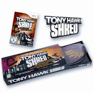 Wii Tony Hawk SHRED Bundle für Wii @mytoys.de
