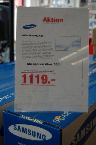 [LOKAL] Dayby - Frechen Samsung UE 40 F 8090 SLXZG für 1119€