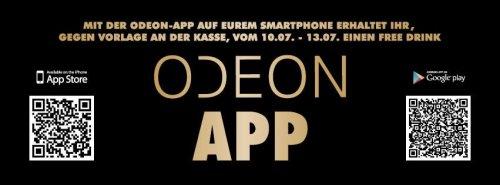 [Lokal Würzburg] Free Drink in der Odeon Lounge