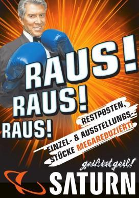 """[lokal Aachen] Neuer Saturn Prospekt - """"Restposten und Co"""", z.B. Blurays 8€, Netbook 222€, iPod+Bose Sourroundset 999€, usw."""
