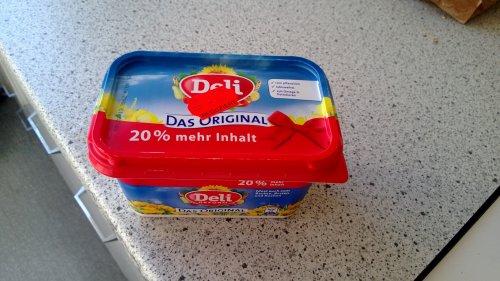 [Lokal Ulm] MHD Deli Margarine 20% Mehr inhalt