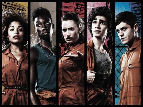 Misfits Season 1-4 Blu-ray O-Ton @ amazon.co.uk