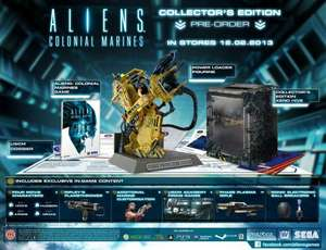 Aliens Colonial Marines - Collector's Edition PC für ca. 20,00€ bei www.amazon.co.uk