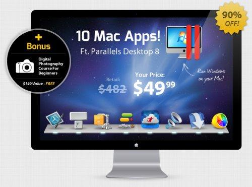 [MAC] Das Summer 2013 Mac Bundle mit Parallels 8 und WinZip – echter Kracher!