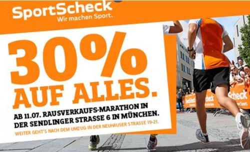 (Lokal) 30% Sport Scheck München Sendlinger Straße
