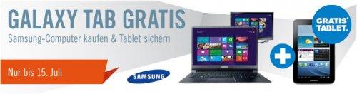 Cyberport : Galaxy Tab 2 GRATIS zu Ultrabooks & All-in-One-PCs von Samsung