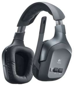 Logitech F540 Wireless Headset für PC, Xbox 360, PS3 bei Amazon für 63,08€