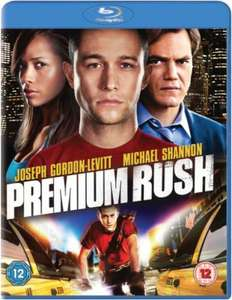 Premium Rush (Inklusive UltraViolet Copy) [Blu-ray] für 8,10 € [Zavvi.uk]