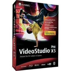 [CONRAD] Corel® VideoStudio Pro X5 Vollversion für 25€