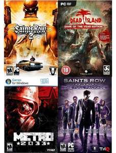 [Steam] Deep Silver Power Pack Volume 2 (Dead Island GOTY, Metro 2033, Saints Row 2 + 3 Full Package Uncut) @ amazon.com für 11,05 €