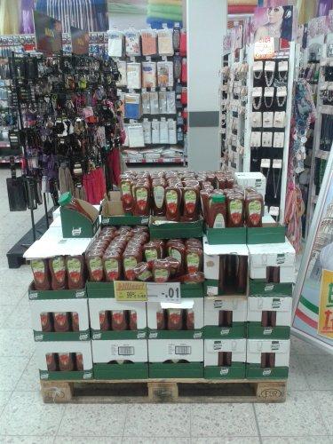 (lokal) Kaufland Potsdam Hbf Knorr Ketchup 1 Cent, MHD Heute