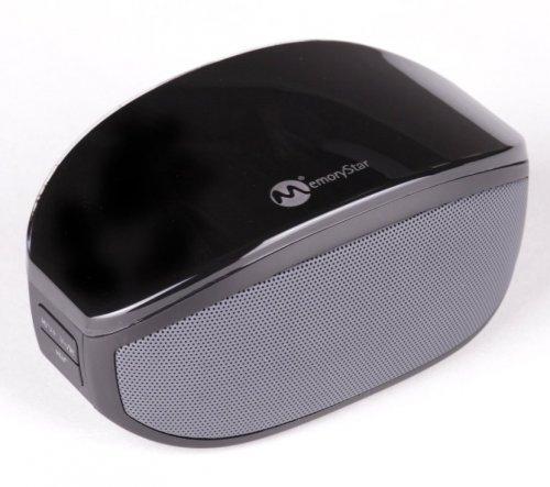 MemoryStar BOXX Bluetooth-Lautsprecher weiß oder schwarz 30% HEUTE von 21.15h bis 23.59h