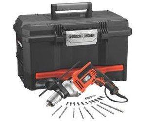 """Black & Decker Schlagbohrmaschine-Set mit Box und Bohr/Bit-Set """"KR705T12A"""" für 43,90€ @ZackZack"""