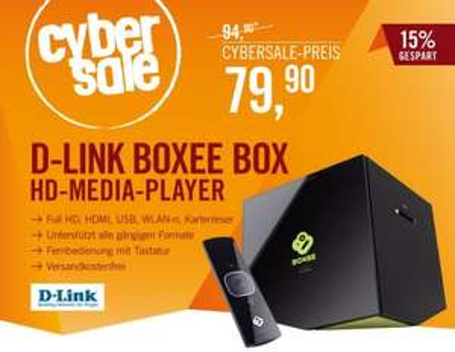 [Cyberport Cybersale] D-Link Boxee Box