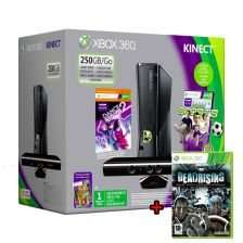 Xbox 360 250 GB Kinect + Kinect Sports + Dance Central 2 Bundle + Dead Rising (Uncut) für 198 Euro; inkl. VSK