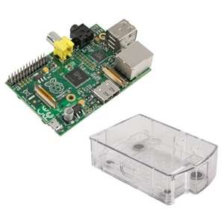 Raspberry Pi Foundation Raspberry Pi Model B (512MB) inkl. Gehäuse