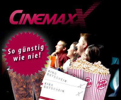 neue Cinemaxx-Gutscheine bei DailyDeal mit bis zu 60 % Rabatt