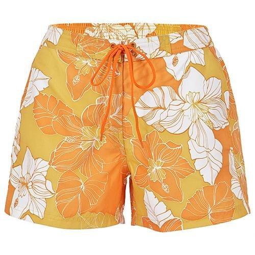 Schiesser Aqua Damen Badeshort Badehose orange 9,99 Euro Alle Größen ebay