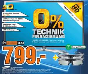 "[LOKAL BOCHUM-WITTEN-HATTINGEN] Samsung 55"" 3D LED-TV UE55F6100 @Saturn"