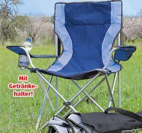 OFFLINE - Faltbarer Campingstuhl mit Getränkehalter bei ALDI SÜD ab 5.5.