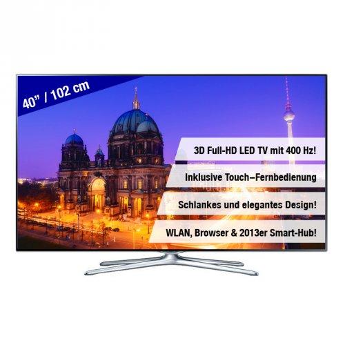 [ebay Summersale] Nur heute! Samsung UE40F6500 für 555.- inkl. Versand
