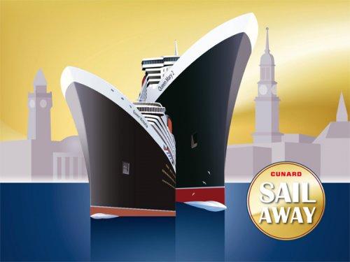 [Cunard]  Schnupperreisen Hamburg  Southampton