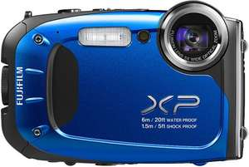Fujifilm FinePix XP60 Digitalkamera (16,4 Megapixel, 5-fach opt. Zoom, Full-HD, 6,9 cm (2,7 Zoll) LCD CMOS Sensor, HDMI, bildstabilisiert, USB 2.0) Blau mit Vsk für ca.143 € [Amazon.uk]