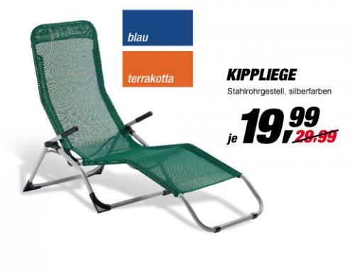 offline @TOOM :   Kippliege für 19,99€