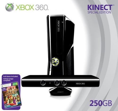 Xbox 360 250 gb + Kinect + Adventures bei Media Markt (Neunkirchen/Saar)