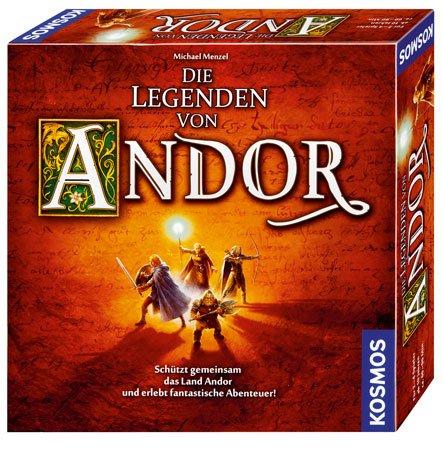 Kennerspiel des Jahres: Legenden von Andor @myToys für Neukunden
