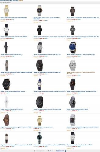 Watch Your Wrist Amazon Shop -> Skagen-Uhren Angebote!