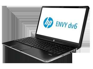 HP Envy dv6-7240sg Notebook  15,6 Zoll Notebook (Intel Core i7 3630QM, 2,4GHz, 4GB RAM, 500GB HDD, NVIDIA GT 630M, DVD, Win 8) schwarz