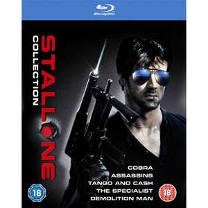 [Blu-ray] The Sylvester Stallone Collection @ Amazon.co.uk