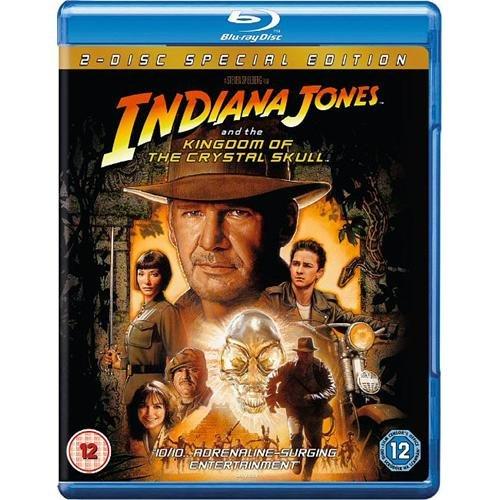Blu-ray - Indiana Jones und das Königreich des Kristallschädels (2 Discs) für €5,04 [@Play.com]