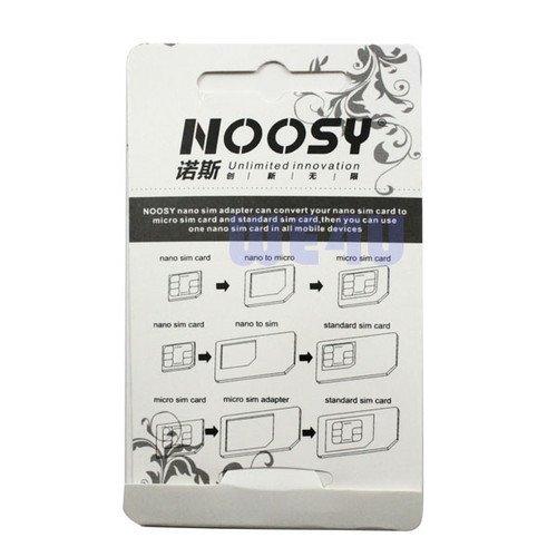NOOSY Micro Sim Adapter 3in1 für nur 1€ inkl. Versand