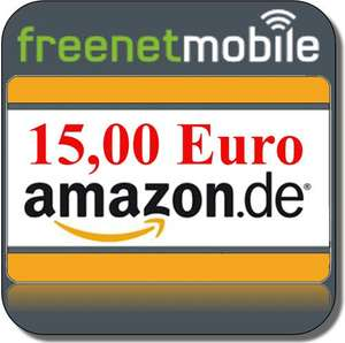 freenetMobile Prepaid mit 15€ Amazon + 15€ Guthaben