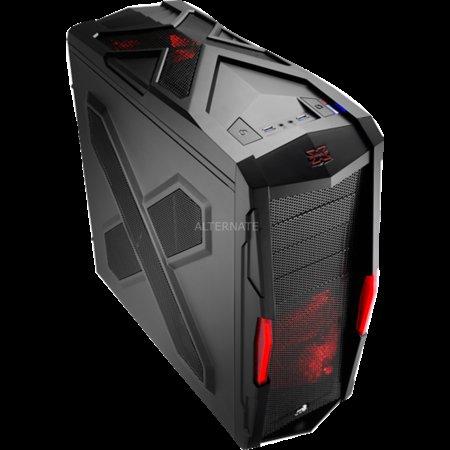 """Aerocool Gehäuse Midi Tower """"Strike-X Xtreme Black Edition"""" für 54,94€ @ ZackZack"""