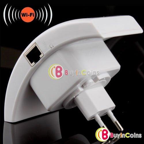 (CN) Wifi 802.11N WLAN Repeater mit EU Stecker und LAN Kabel für ca. 14.16€ @ BIC