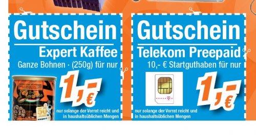Expert Lokal  10€   Xtra Card mit 10 € Guthaben für 1€, 3 Karten möglich