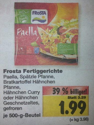 [Bundesweit?] Ab Montag Frosta Fertiggerichte 500g für 1,99€