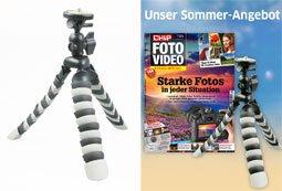 Rollei Flexipod und CHIP FOTO-VIDEO Sonderheft für 10€