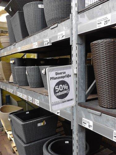 Max Bahr 50% auf Pflanzgefäße für draußen