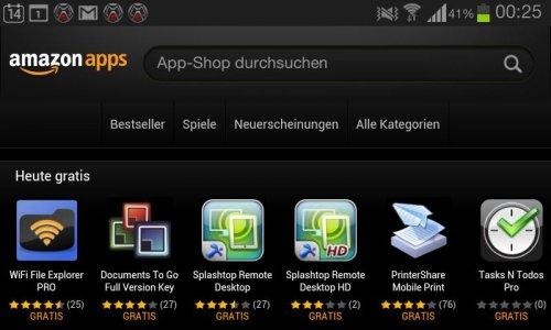 amazon apps - heute 6 KOSTENLOS