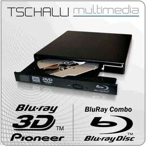 """externes Blu-Ray Combo Slim Laufwerk Pioneer """"BDC-TD03RS"""" für 57,90€ @ Ebay"""