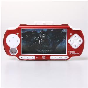 Transformers Design Metallgehäuse mit Silicone Case Kit für PSP2000/3000