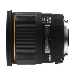 Sigma 24mm F1,8 EX DG ASPH Macro [Sony] für  421,38 € @Amazon.fr