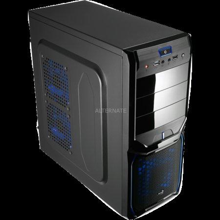 """Aerocool PC-Gehäuse """"V3X Evil Blue Edition"""" & Black & Red zur Auswahl"""