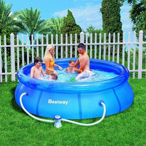 Bestway™ - Fast Set Pool mit Filterpumpe (305x76cm) ab €42,50 [@MeinPaket.de]