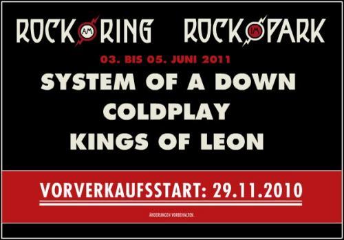 Rock im Park 2011 3-Tageskarte statt 160 für 102€ +VSK @ o2more