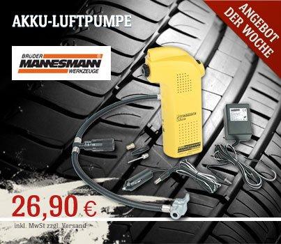 MANNESMANN AKKU-LUFTPUMPE für nur 26,90 €